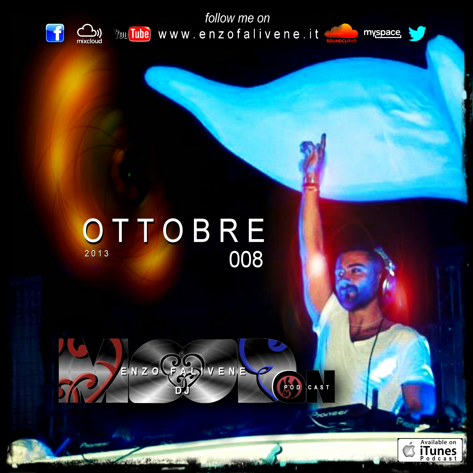 Dj Enzo Falivene - MOOD ON 008 Ottobre 2013