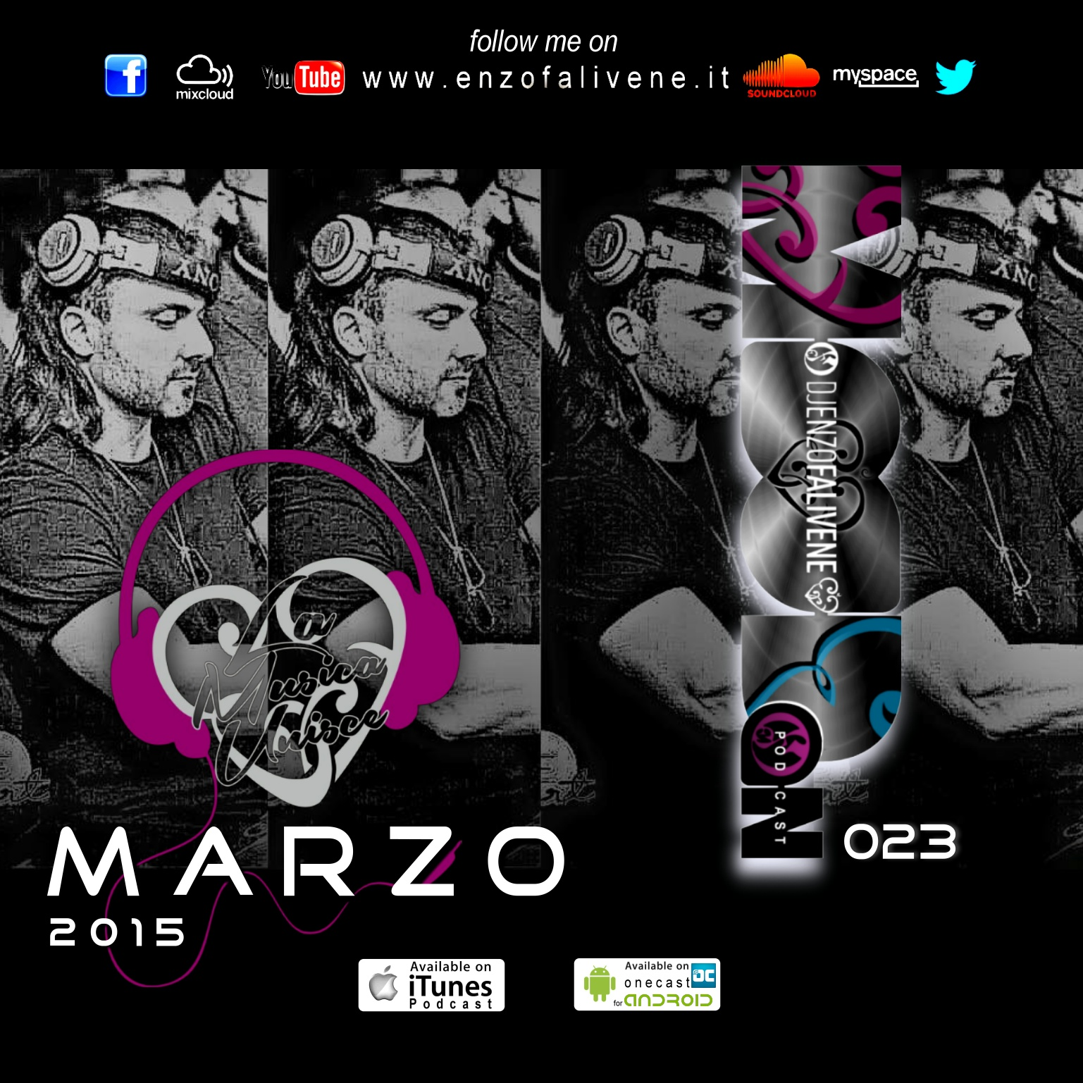 Dj Enzo Falivene - Mood On 023 Marzo 2015