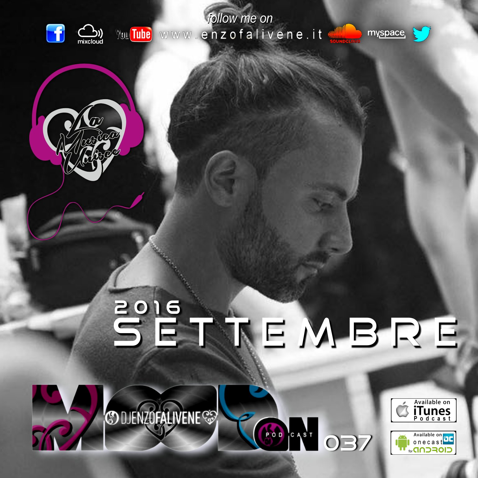 Dj Enzo Falivene - Mood On 037 Settembre 2016